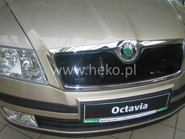 Zimní clona chladiče Škoda Octavia II. 2004-2008 (horní)