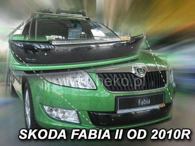 Zimní clona chladiče Škoda Fabia II. 2010-2014 (dolní)