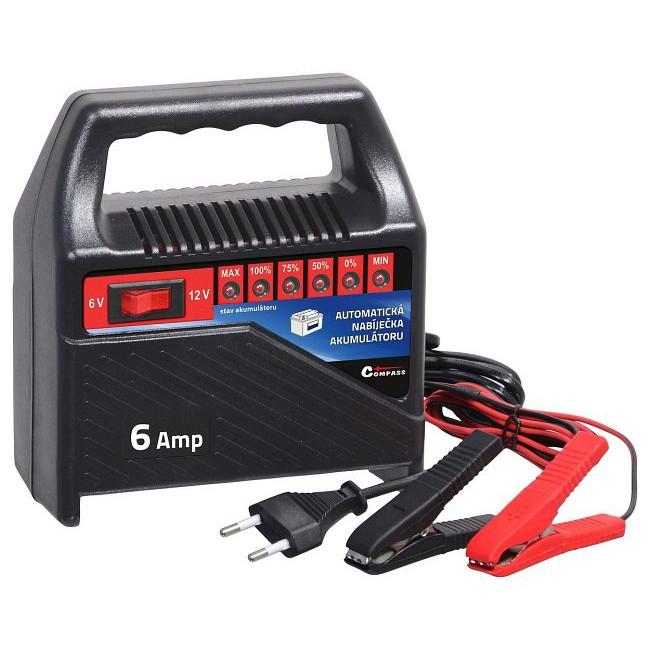 Automatická nabíječka autobaterií 15 - 60Ah