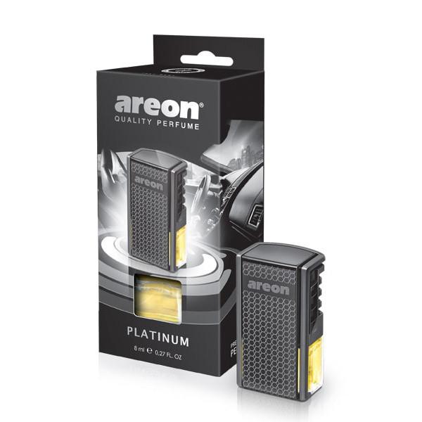 Luxusní parfém do auta Areon Platinum (do mřížky, 8ml)