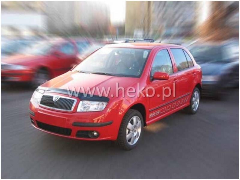Deflektor kapoty Škoda Fabia I. 2000-2007 (nalepovací)