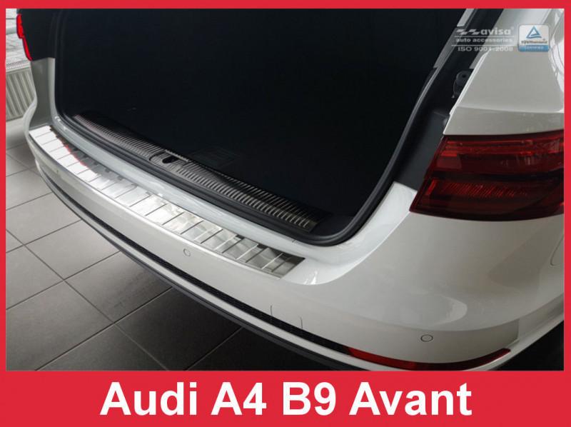 Ochranná lišta hrany kufru Audi A4 2015- (combi)
