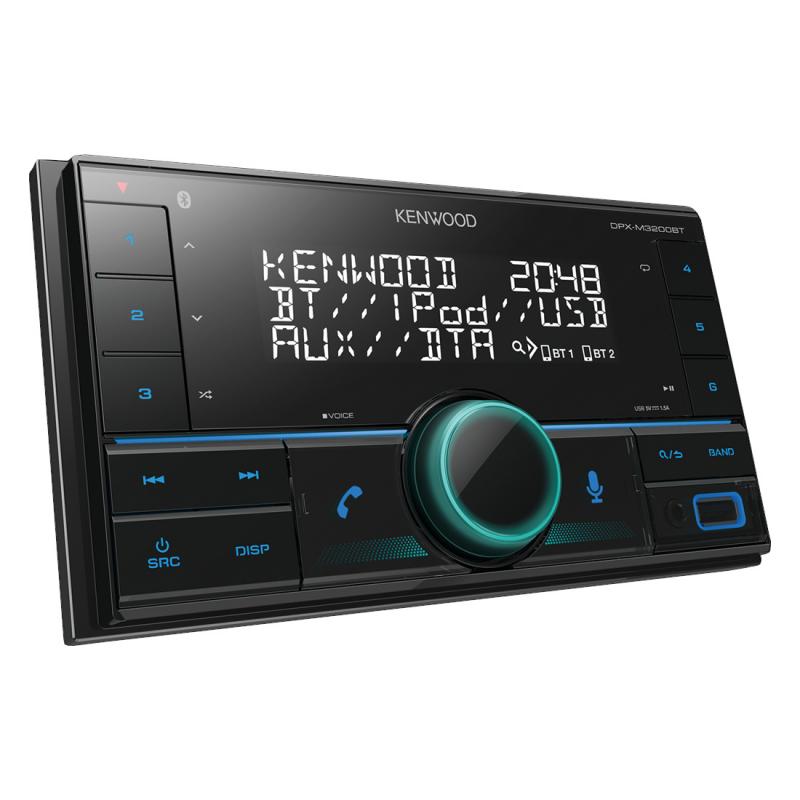 Autorádio Kenwood DPX-M3200BT (nastavitelné podsvícení)