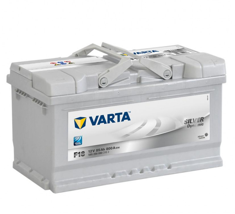 Autobaterie 85Ah Varta Silver Dynamic F18