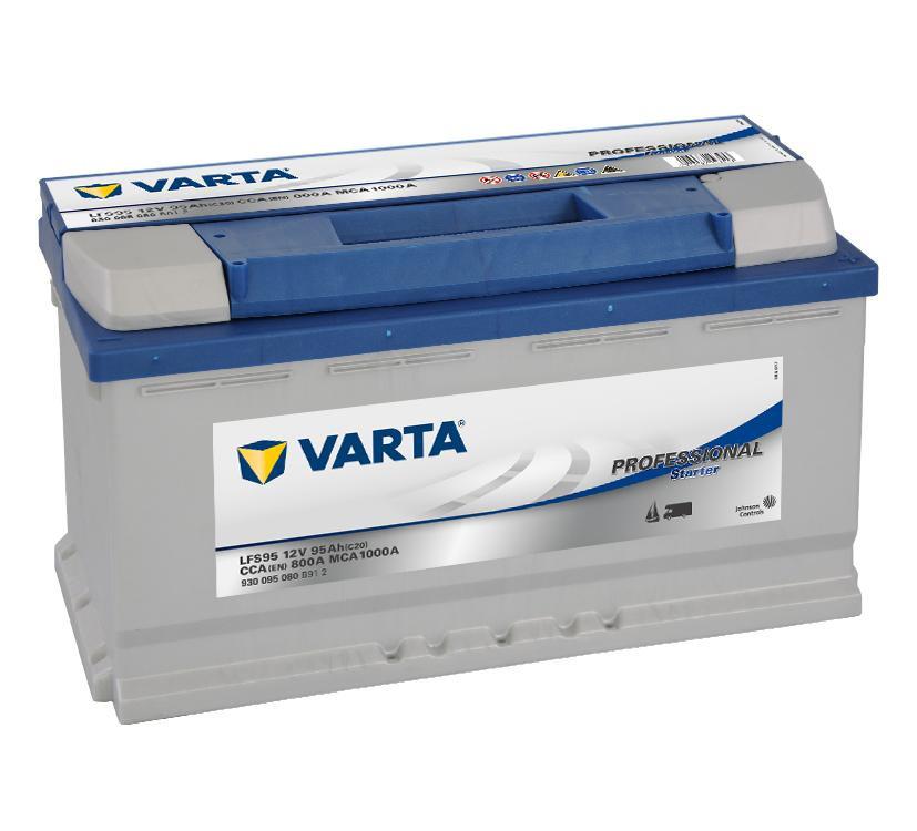 Autobaterie 95Ah Varta Professional Starter LFS95