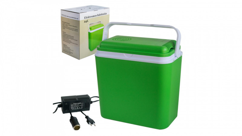 Autochladnička 24l (zelená) Wareco Depo