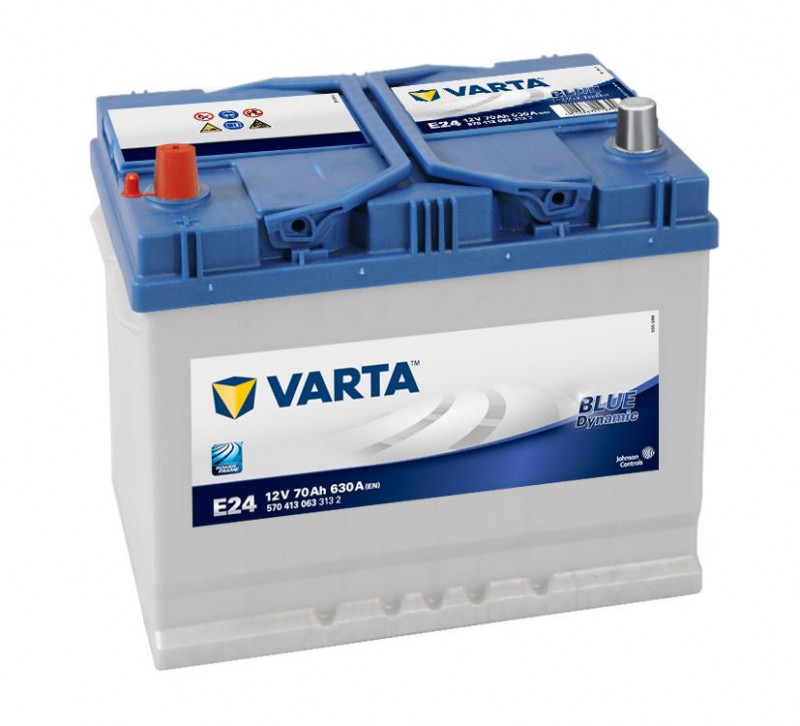 Autobaterie 70Ah Varta Blue Dynamic E24
