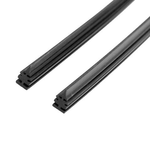 Gumičky stěrače 710 mm (flat, 2ks)