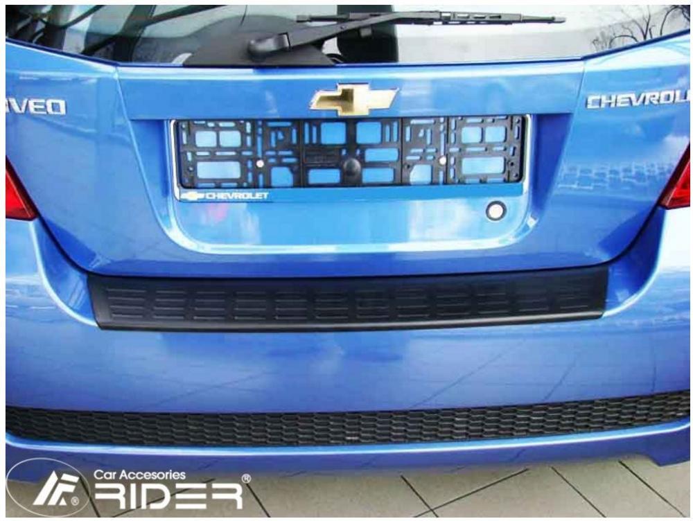 Ochranná lišta hrany kufru Chevrolet Aveo 2002-2011 (hb)