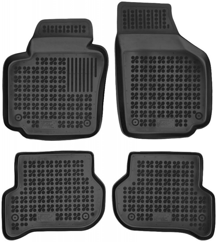 Gumové autokoberce Rezaw-Plast Seat Altea 2004-2006