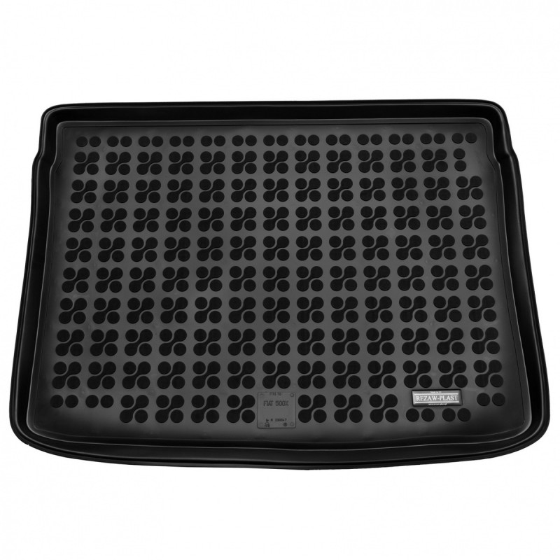 Gumová vana do kufru Rezaw-Plast Fiat 500X 2014- plná rezerva