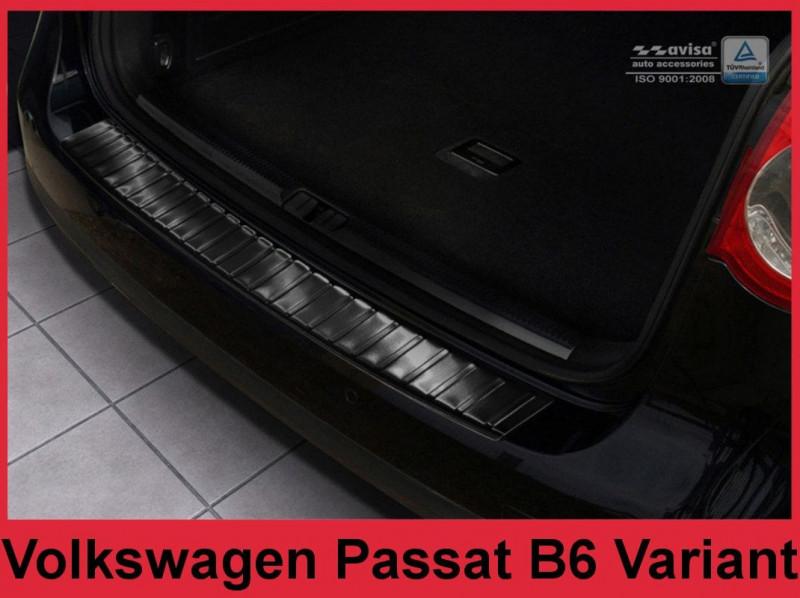 Ochranná lišta hrany kufru VW Passat B6 2005-2010 (combi, tmavá)