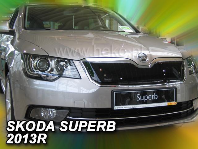 Zimní clona chladiče Škoda Superb II. 2013-2015 (po faceliftu)
