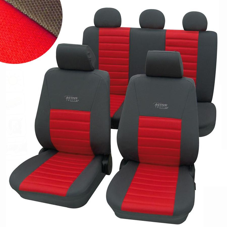 Autopotahy Active Sports (červené)