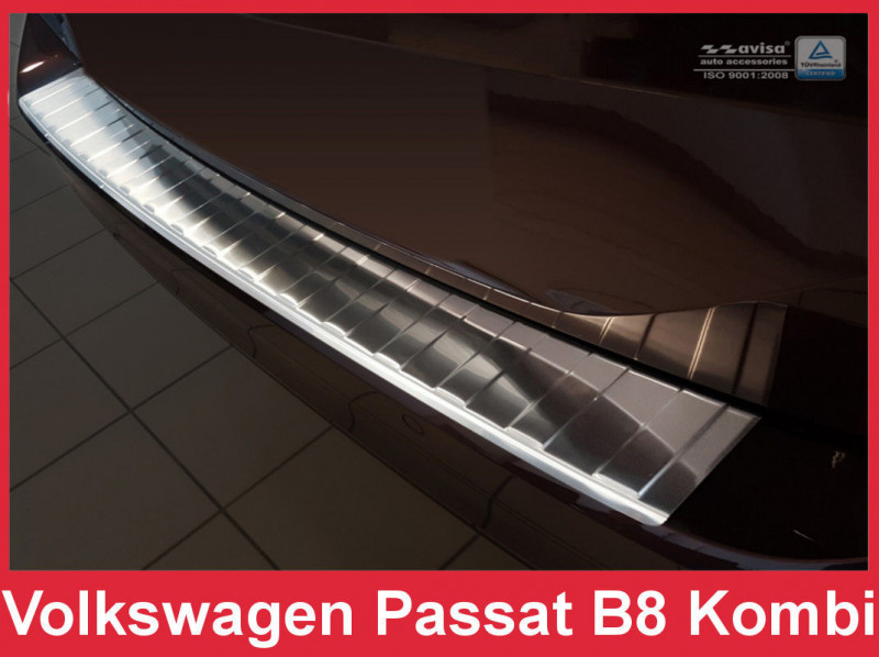 Ochranná lišta hrany kufru VW Passat 2015- (combi, matná)