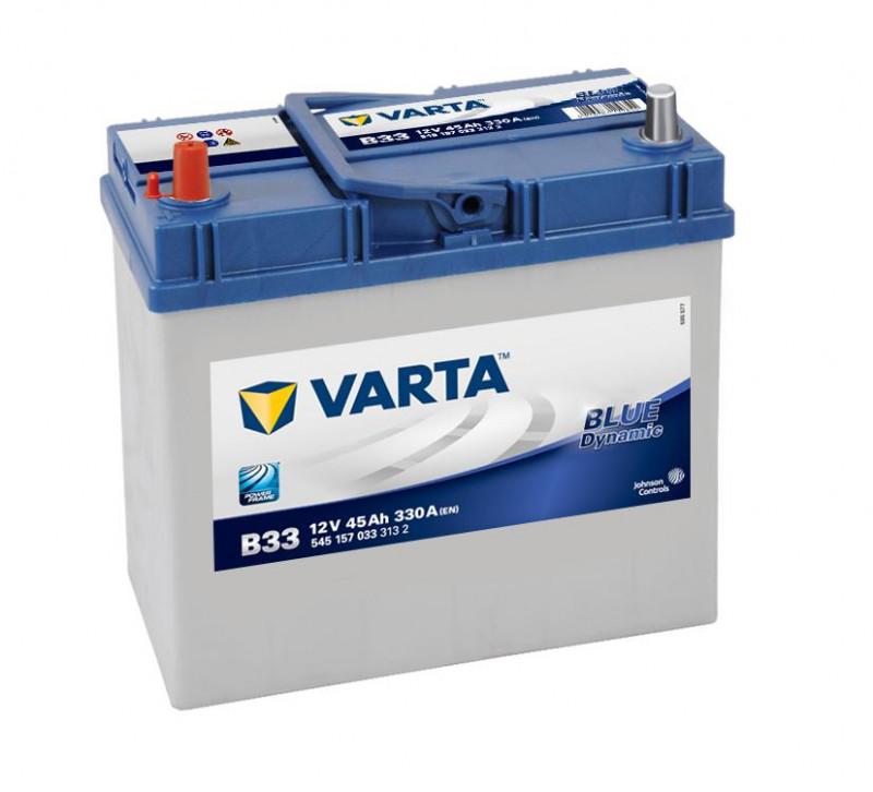 Autobaterie 45Ah Varta Blue Dynamic B33