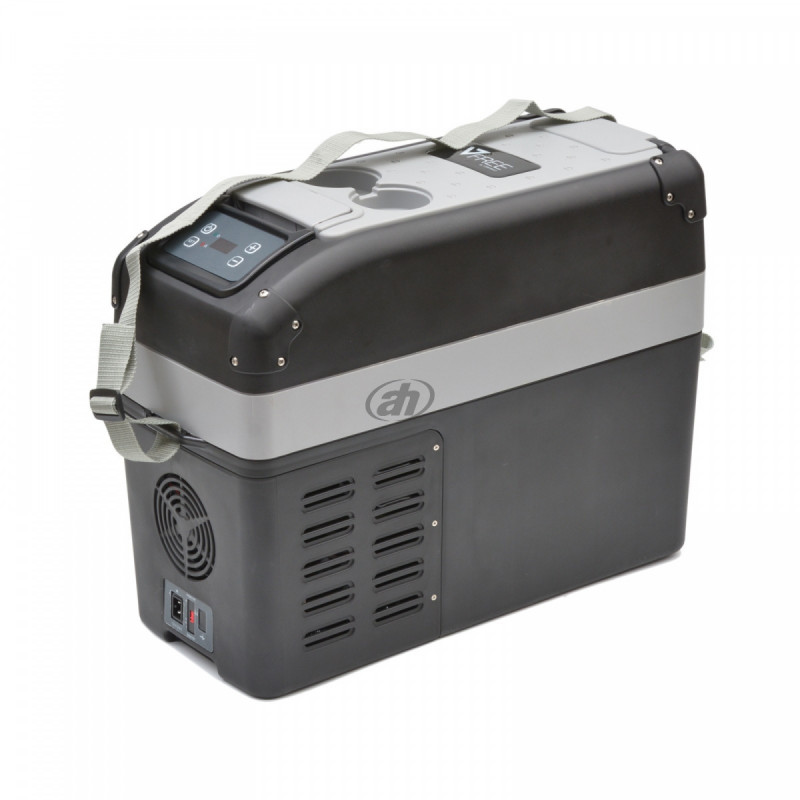 Autochladnička s kompresorem 16l (mezi sedačky)