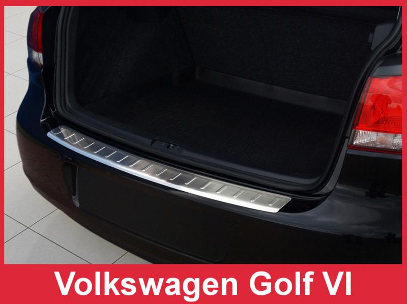 Ochranná lišta hrany kufru VW Golf VI. 2008-2012 (hb)
