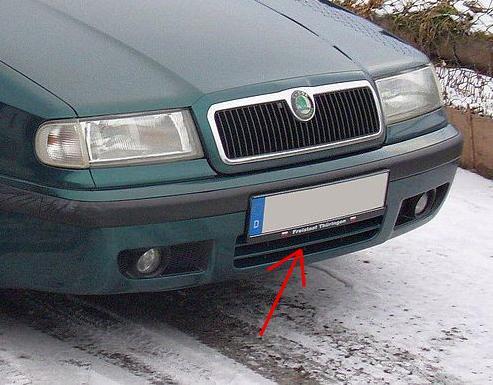 Zimní clona chladiče Škoda Felicia (dolní)