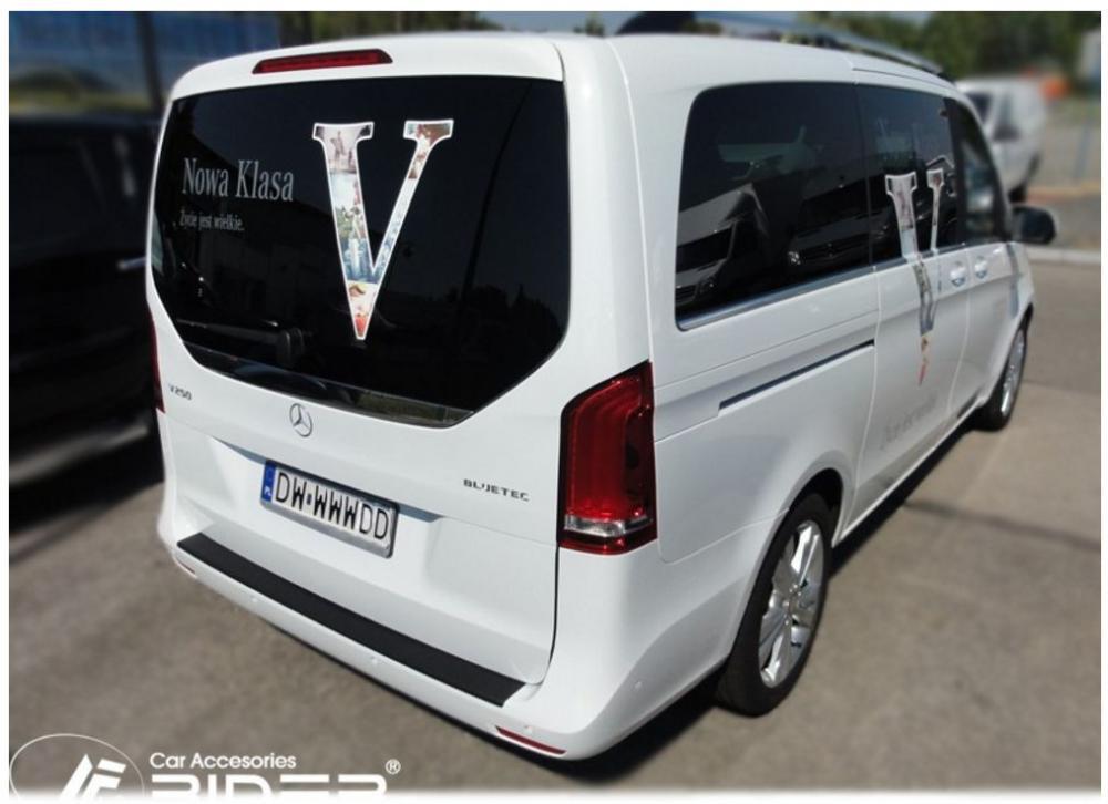 Ochranná lišta hrany kufru Mercedes V-Class 2014- (W447)