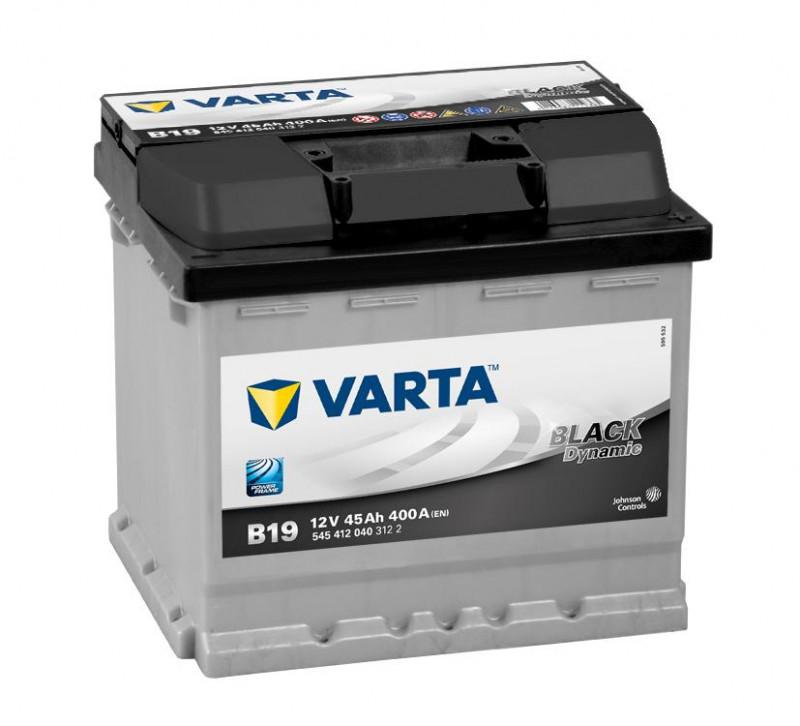 Autobaterie 45Ah Varta Black Dynamic B19 Varta