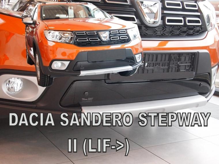 Zimní clona chladiče Dacia Sandero Stepway II 2016- (dolní)