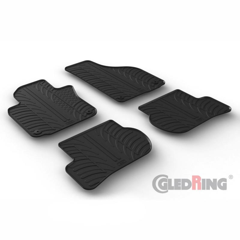 Gumové autokoberce Gledring VW Scirocco 2005-2012