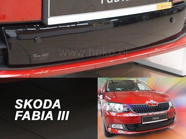 Zimní clona chladiče Škoda Fabia III. 2014- (dolní)