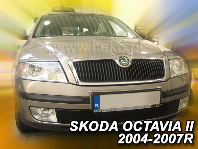 Zimní clona chladiče Škoda Octavia II. 2004-2008 (dolní)