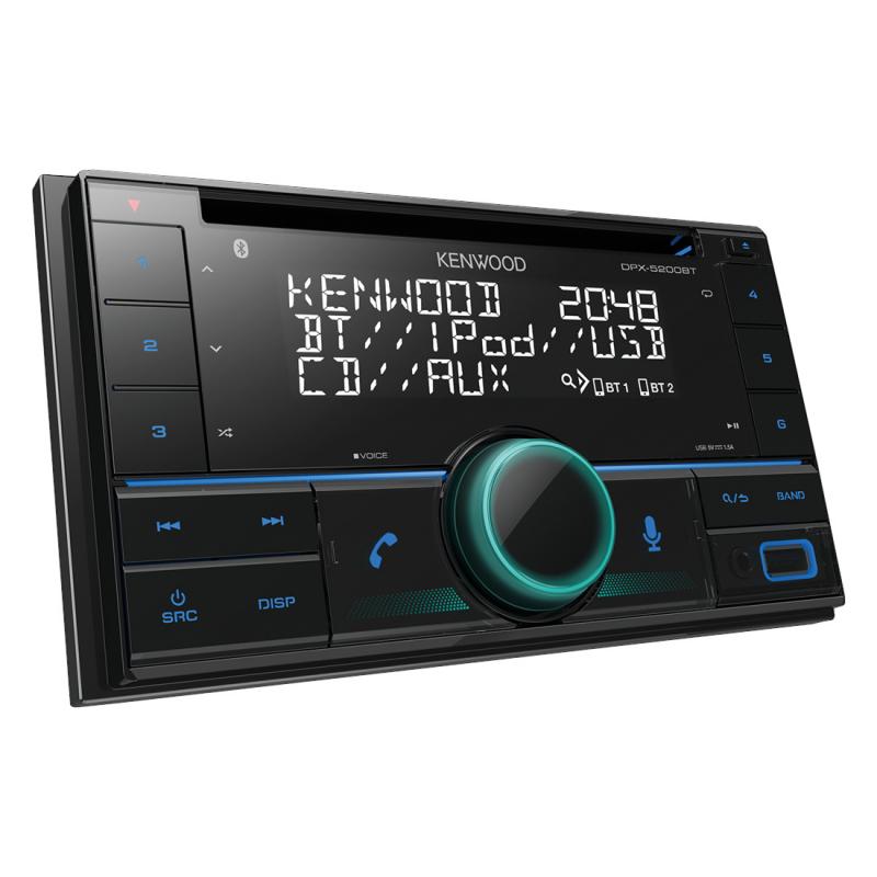 Autorádio Kenwood DPX-5200BT (nastavitelné podsvícení)