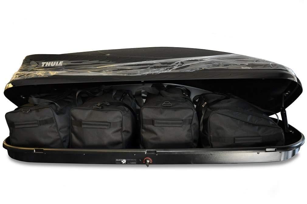 Sada cestovních tašek do střešního boxu