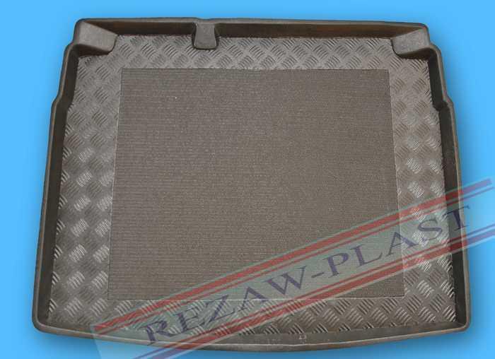 Plastová vana do kufru Rezaw-Plast VW Golf VI. 2008-2012 (hb, dojezdové kolo)