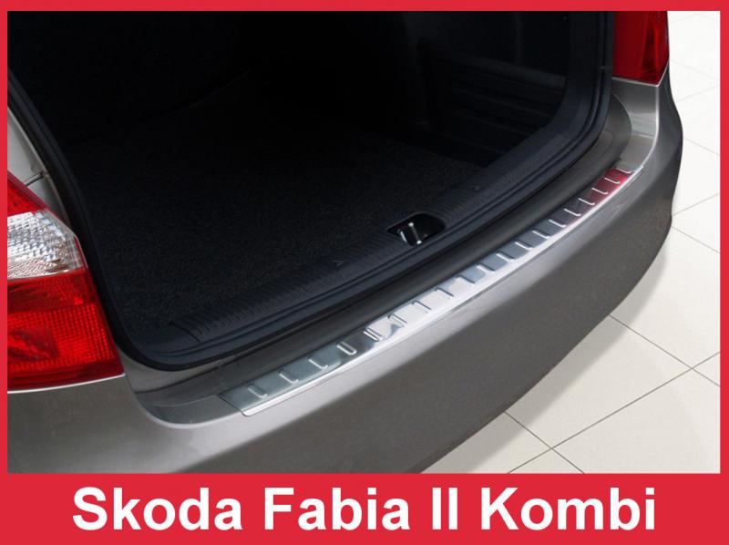 Ochranná lišta hrany kufru Škoda Fabia II. 2007-2014 (combi)