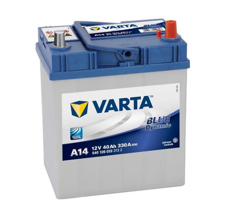 Autobaterie 40Ah Varta Blue Dynamic A14