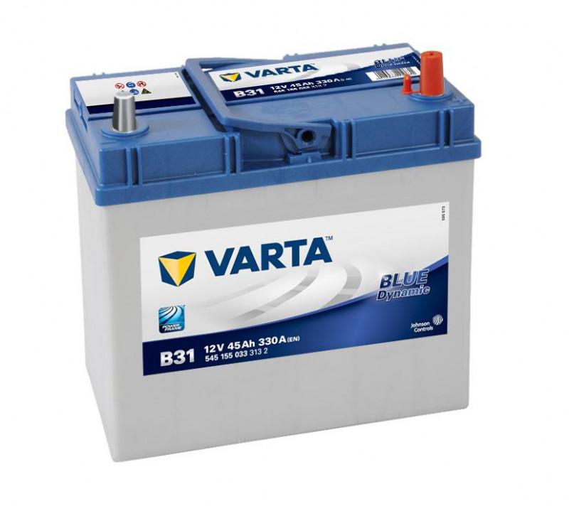 Autobaterie 45Ah Varta Blue Dynamic B31
