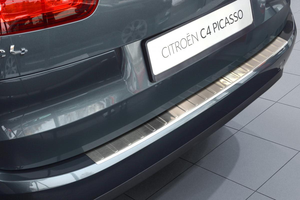 Ochranná lišta hrany kufru Citroen C4 Picasso 2013- (matná)