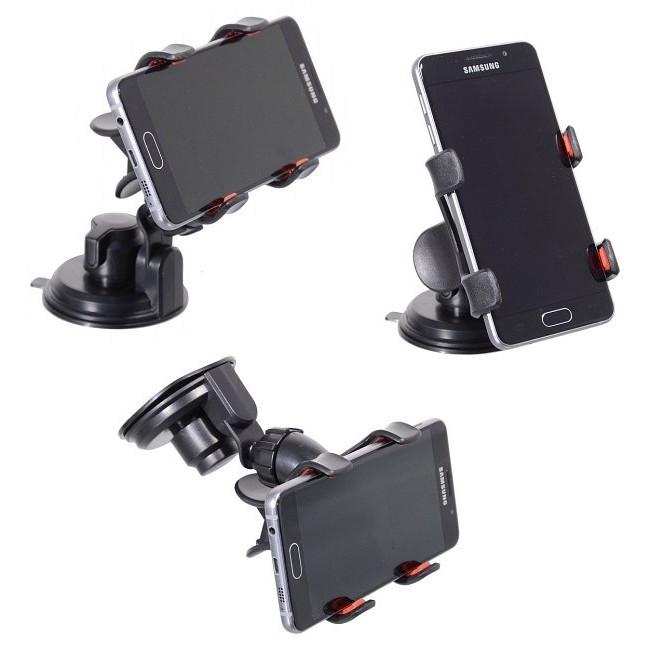 Držák telefonu a GPS - Double clip