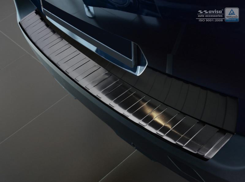 Ochranná lišta hrany kufru Peugeot 5008 2017- (tmavá, matná)