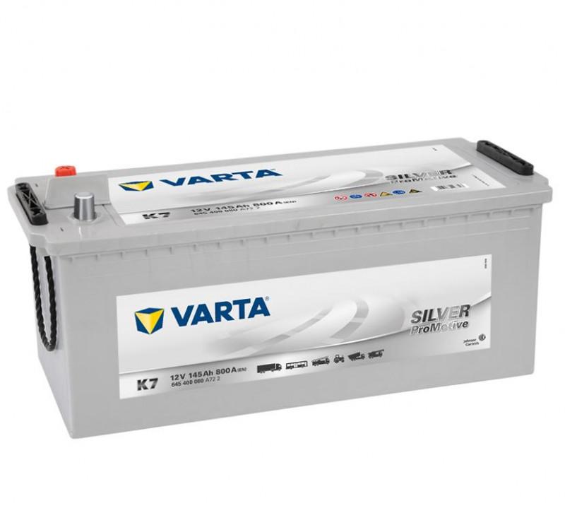 Autobaterie 145Ah Varta Promotive Silver K7