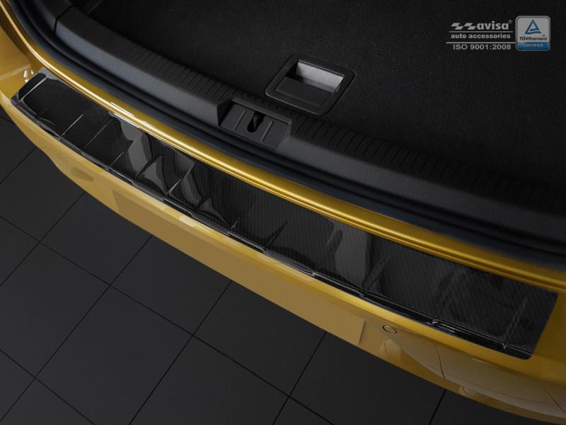 Ochranná lišta hrany kufru VW Golf VII. 2012- (hb, carbon)