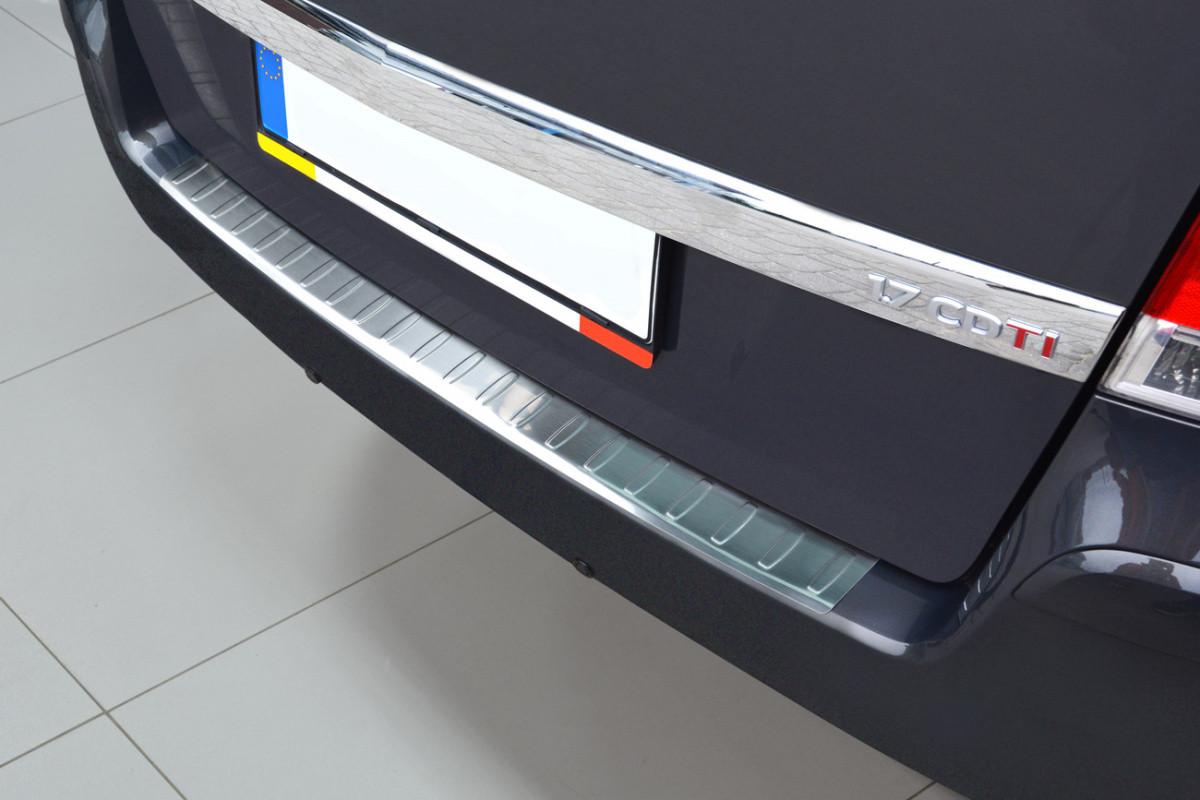 Ochranná lišta hrany kufru Opel Zafira B 2009-2014 (matná)