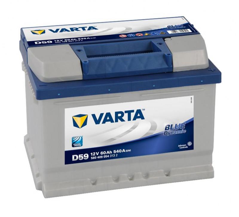 Autobaterie 60Ah Varta Blue Dynamic D59