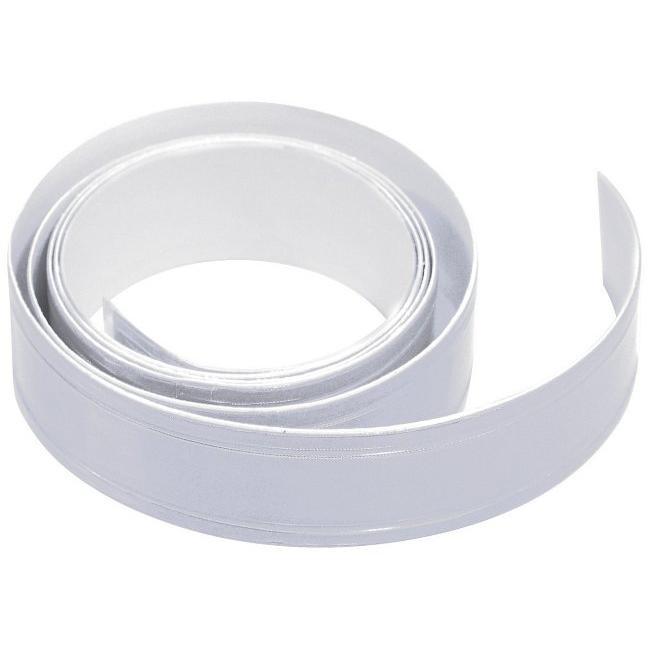 Samolepící reflexní páska - stříbrná