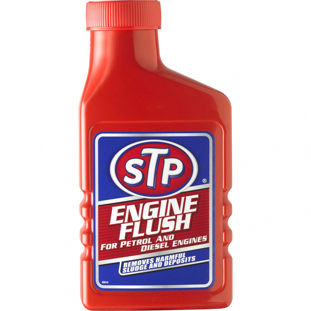 Čistič motoru STP (benzín i nafta, 450ml)