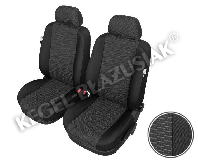 Autopotah Sixtol ARES na přední sedadla černé