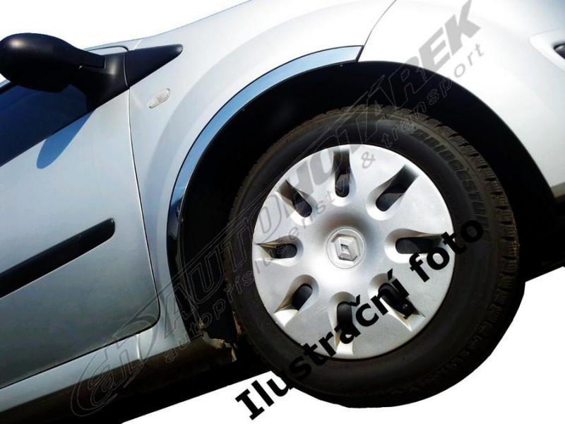 Lemy blatníků Škoda Fabia II. HB 2007-