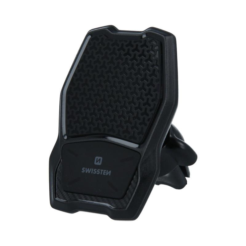 Držák telefonu s bezdrátovou nabíječkou - magnetický, do mřížky
