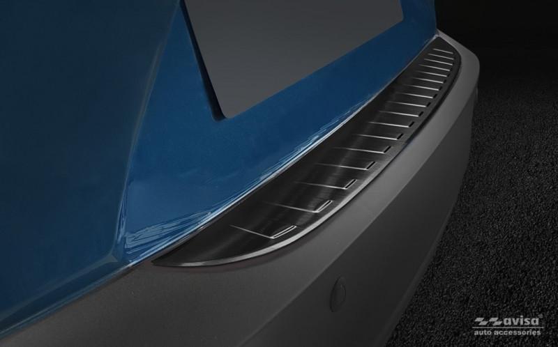 Ochranná lišta hrany kufru Mazda CX-3 2015- (tmavá)