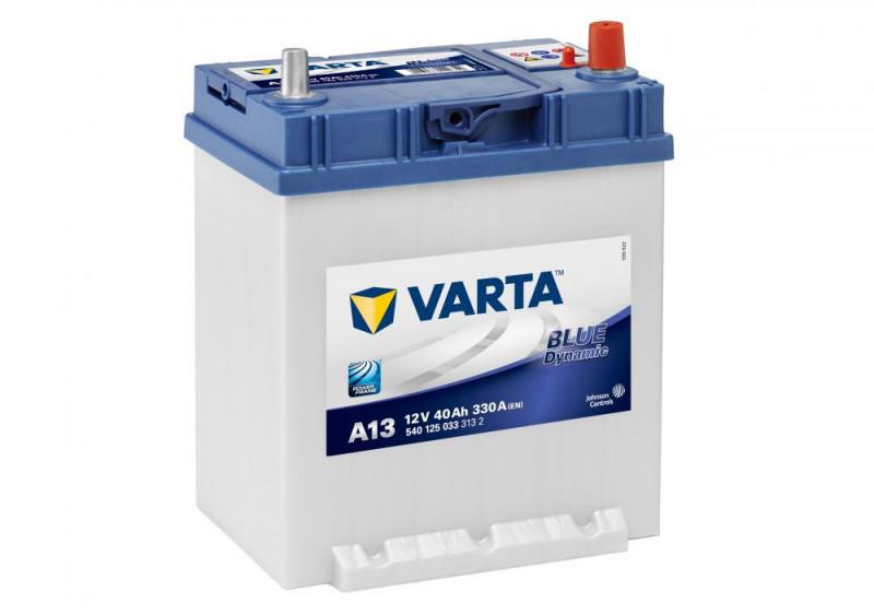 Autobaterie 40Ah Varta Blue Dynamic A13