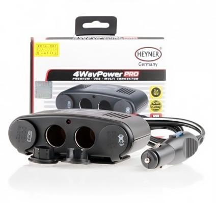 Zásuvka do auta 4WayPower 12V Heyner